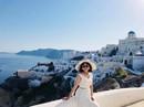Cô gái Hà Nội đi từ thất vọng đến bất ngờ khi ghé Santorini