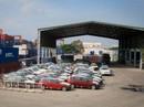 """118 container xe BMW """"vô chủ"""" ở cảng Cái Mép"""