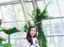 Hoa hậu Hoàn vũ nhí Ngọc Lan Vy biểu diễn cùng 100 thiếu nhi thế giới