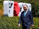 Thủ tướng lên tiếng tại G7: Biển Đông phải là vùng biển hòa bình