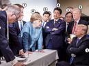 """Mổ xẻ bức ảnh """"bom tấn"""" của bà Merkel"""