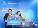 Trao Mercedes cho khách hàng may mắn đặt chỗ Kingdom 101
