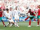 Morocco khóc vì Ronaldo