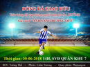 Đá bóng gây quỹ thắp sáng cho đường quê Quảng Ngãi
