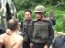"""Nghẹt thở cuộc đấu súng vây bắt 2 """"ông trùm"""" ma túy ở Lóng Luông"""