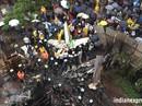 Máy bay lao thẳng vào công trình xây dựng, 5 người chết