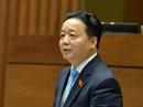 """Bộ trưởng TN-MT Trần Hồng Hà ngồi """"ghế nóng"""" trả lời chất vấn"""