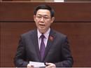 Phó Thủ tướng Vương Đình Huệ trả lời chất vấn về Đặc khu