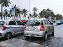 """""""Tóm gọn"""" taxi chặt chém du khách Hàn Quốc ở Nha Trang"""