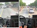 TP HCM: Phạt 2,5 triệu đồng tài xế cản trở xe chữa cháy