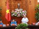 Thủ tướng Nguyễn Xuân Phúc: Tạo điều kiện tối đa để xây dựng thiết chế Công đoàn, phục vụ công nhân