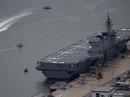 Nhật đưa tàu sân bay tới biển Đông và Ấn Độ Dương