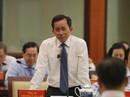 Giám đốc Sở Nội vụ TP HCM: Không làm được nên rời ghế và công khai với dân