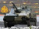 Nga thử nghiệm xe tăng từ… trên trời đáp xuống