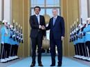 """Qatar """"trả ơn"""", cam kết đầu tư 15 tỉ USD vào Thổ Nhĩ Kỳ"""