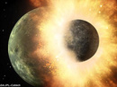 Trái đất có sự sống nhờ hành tinh Theia lao thẳng vào