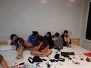 Bắt bán dâm, phát hiện nhóm phê ma túy tập thể