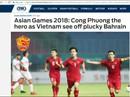 Truyền thông nước ngoài ca ngợi Olympic Việt Nam
