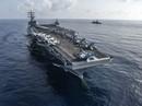 Tàu sân bay Mỹ - Nhật tập trận chung ở biển Đông