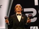 "FIFA The Best 2018: Modric kết thúc ""kỷ nguyên"" Ronaldo - Messi"