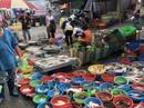 Khu chợ đĩa 5.000 đồng ở TP HCM tăng giá gấp đôi, công nhân lo lắng