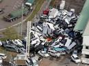 """Hình ảnh Nhật Bản """"tả tơi"""" sau bão Jebi"""