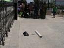 Hai thanh niên dùng súng cướp ngân hàng ở Khánh Hòa