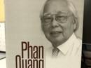 """Ra mắt tuyển tập """"Phan Quang - 90 tuổi đời, 70 tuổi nghề"""""""