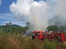 Kịp thời dập tắt đám cháy rộng 1.000 m2 tại bán đảo Sơn Trà
