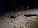 Tông xe máy người phụ nữ dắt qua đường, người đàn ông tử vong