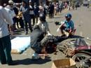 Bị xe chở bauxite cán, 1 người tử vong