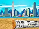Trung Quốc xây dựng đường hầm cao tốc dài hơn 10km xuyên qua hồ nước