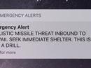 Dân Hawaii tá hỏa vì báo động tên lửa do bấm nhầm nút