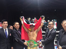 Trần Văn Thảo tập xuyên Tết để tranh đai vô địch thế giới