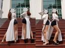 Thảm họa thời trang khi mỹ nhân Việt diện áo dài phản cảm