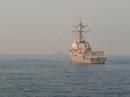 Mỹ phái 2 chiến hạm mang tên lửa dẫn đường qua eo biển Đài Loan