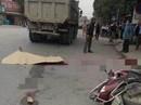 Người phụ nữ mang thai đôi bị xe tải cán tử vong