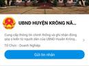 Một huyện miền núi liên kết với dân qua mạng xã hội