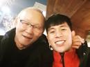 Vừa về Hàn Quốc, thầy Park đã đi thăm Đình Trọng