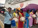 """Hàng ngàn khách quốc tế """"xông đất"""" Việt Nam bằng tàu biển hạng sang"""