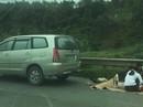 Lại dừng xe tổ chức ăn uống trên cao tốc Nội Bài-Lào Cai