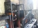 Vừa được công nhận thoát nghèo, nhà bị cháy thành tro