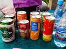 Bia Sài Gòn, nước cam Việt trong cửa hàng ở Triều Tiên