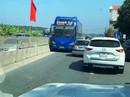 Truy tìm tài xế xe khách Thanh Hóa chạy ngược chiều trên Quốc lộ 1A