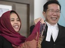 """Vụ án """"Kim Jong-nam"""": Siti Aisyah về Indonesia, cảm ơn Tổng thống Widodo"""