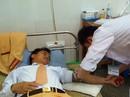 Thiếu tá CSGT hiến máu cứu nữ sinh gặp tai nạn giao thông
