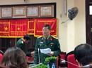 Hậu kiểm thí sinh trúng tuyển vào trường quân đội