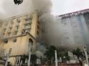Cháy tổ hợp khách sạn, nhà hàng và quán bar sát bệnh viện: Phát hiện 1 phụ nữ tử vong