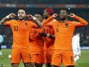 """""""Cố nhân"""" Man United tỏa sáng, Hà Lan thắng tưng bừng vòng loại Euro"""