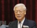 Tổng Bí thư, Chủ tịch nước lắng nghe, tiếp thu ý kiến của các cán bộ nguyên là lãnh đạo cấp cao